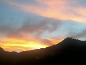 Tramonto sul Monte Faggiola - Casteldelci