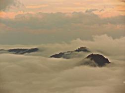 San Leo e Maioletto nella Nebbia