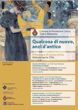 rassegna musicale antica Montefiore